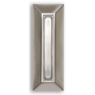 Heathco 750-SN-A Satin Nickel Finish Slim Line Doorbell