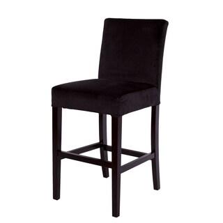 Bombay Pirate Black Microfiber Barstool