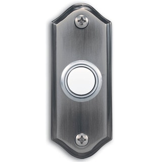 Heathco 923-C Pewter Lighted Doorbell