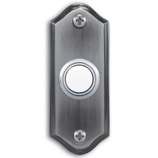 Heath Zenith  Pewter  Wired  Pushbutton Doorbell
