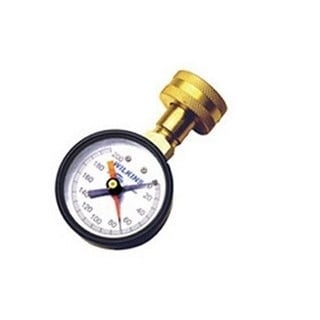 Wilkins 0-200 Pounds Per Square Inch 3/4-inch Female Hose Bibb Pressure Gauge
