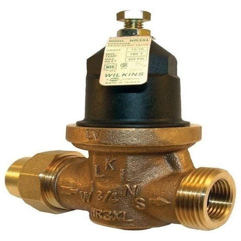 Wilkins Pressure Reducing Valve, Lead-free, FNPT Union x FNPT