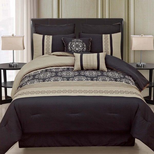 Medallion 8-piece Comforter Set
