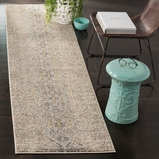 Safavieh Monaco Vintage Distressed Grey / Multi Distressed Rug (2' 2 x 8')