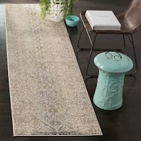 Safavieh Monaco Vintage Distressed Grey / Multi Distressed Rug - 2' 2 x 8'