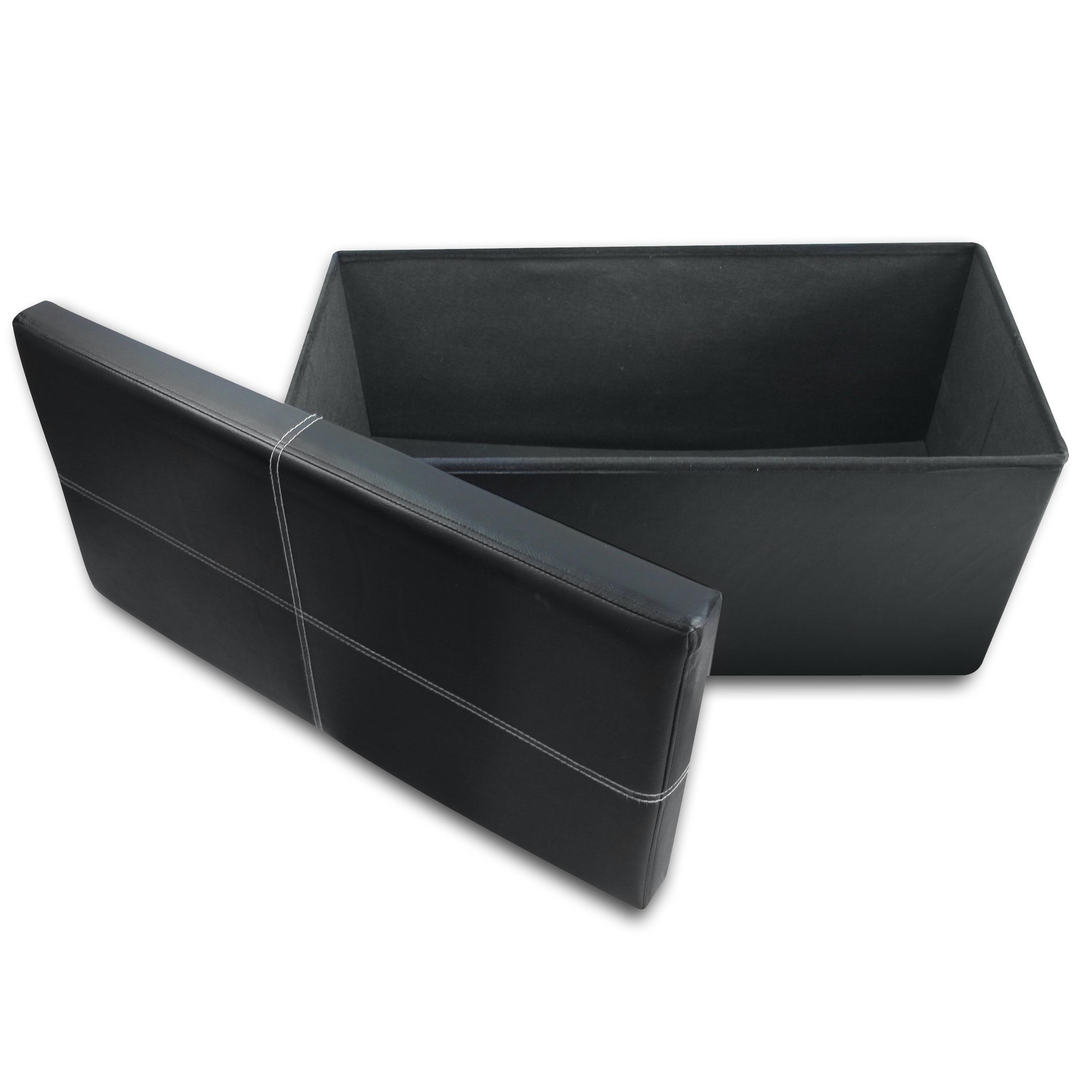 Crown Comfort's Line Design Black Retangular Memory Foam ...