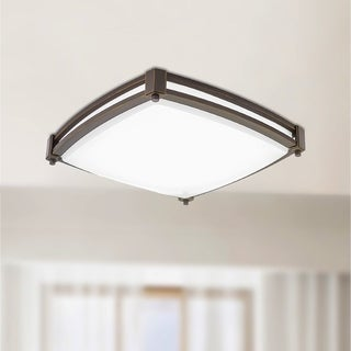 Lithonia Lighting FMSSATL 13 14830 BZA M4 Antique Bronze LED Saturn Flushmount