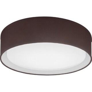 Lithonia Lighting FMABFL 16 20830 F20 M4 Aberdale LED 3000K Flush Mount Brown 16-inch Round Ceiling Light