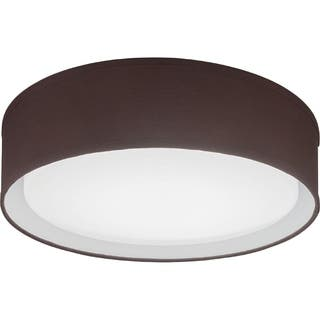 Lithonia Lighting FMABFL 16 20830 F20 M4 Aberdale LED 3000K Flush Mount Brown 16-inch Round Ceiling Light https://ak1.ostkcdn.com/images/products/11769716/P18682591.jpg?impolicy=medium