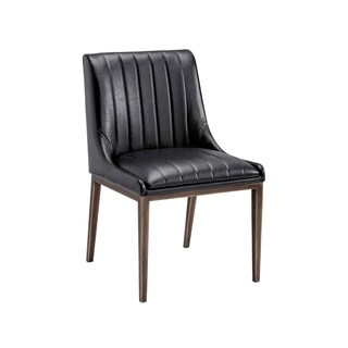 Iron Gate Sunpan Halden Vintage Black Dining Chair (Set of 2)