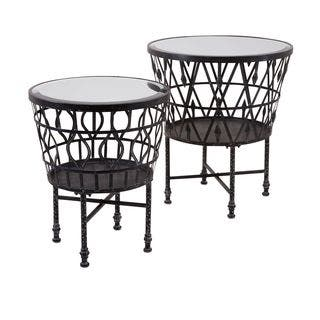 Zaria Drum Mirror Accent Tables (Set of 2)|https://ak1.ostkcdn.com/images/products/11769780/P18682677.jpg?impolicy=medium