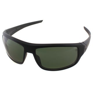 TAG Heuer TAG Racer 9221 304 Black Plastic Sport Green Polarized Lens Sunglasses