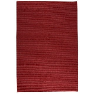 M.A.Trading Indo Hand-knotted Manchester Red Rug (3' x 5'4)