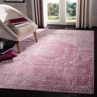 Safavieh Valencia Lesja Distressed Vintage Boho Oriental Polyester Rug