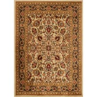 Oriental Floral Stain-resistant Area Rug (7'8 x 10'4)