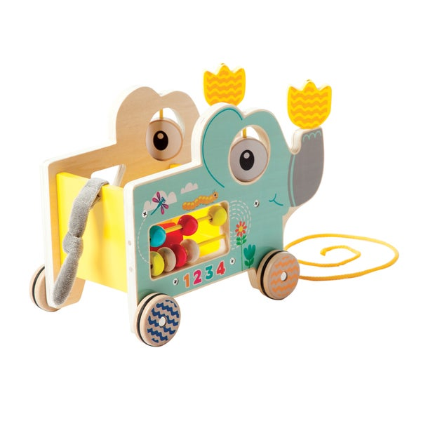 Manhattan Toy My Pal - Elly Wooden Toddler Pull Along Toy
