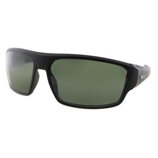 TAG Heuer TAG Racer 9222 304 Matte Black Plastic Sport Green Polarized Lens Sunglasses