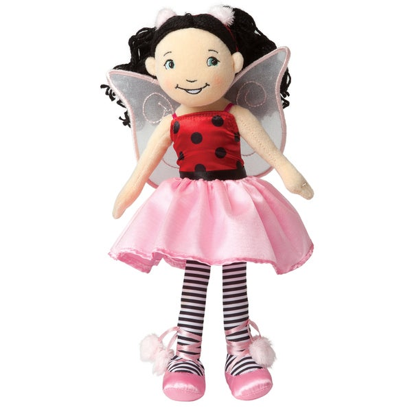 Manhattan Toy Groovy Girls Fairybelles 13-inch Plush Lacey Ballerina Fashion Doll