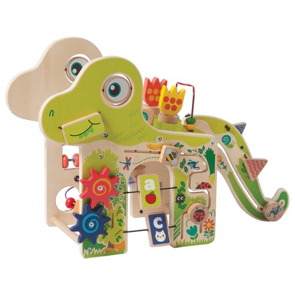 Manhattan Toy Playful Dino Wooden Activity Center