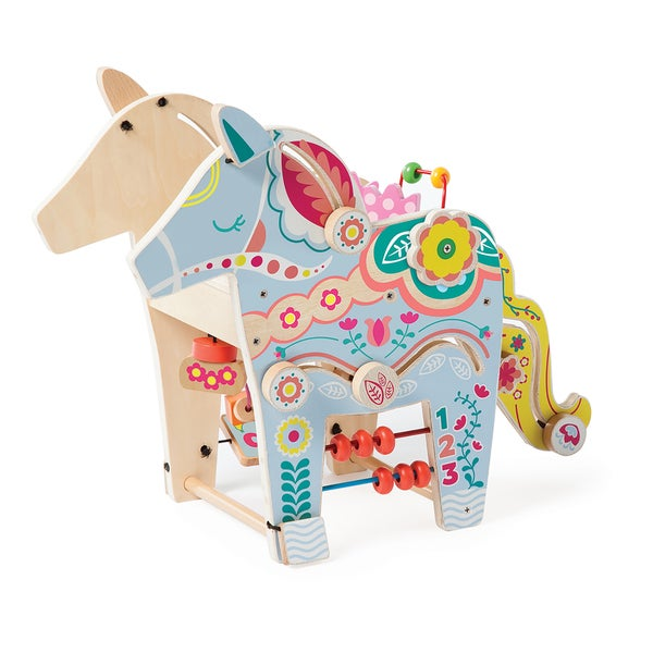 Manhattan Toy Playful Pony Wooden Activity Center