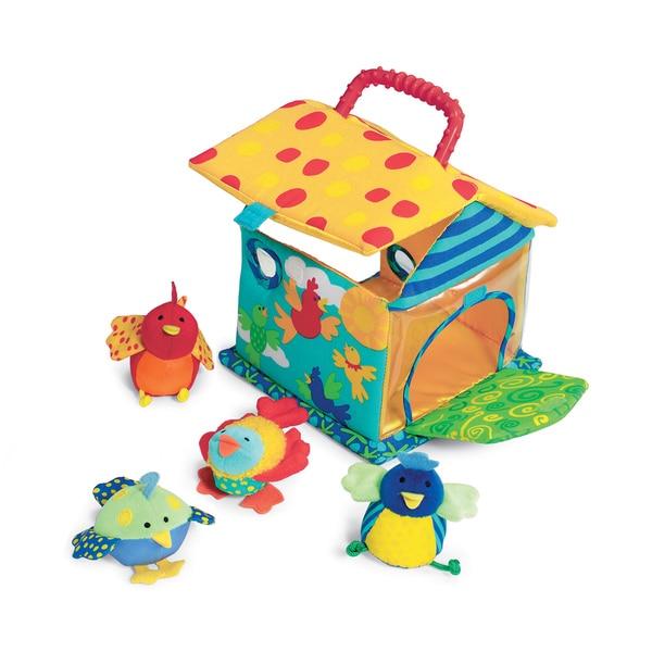 Manhattan Toy Put and Peek Birdhouse Toy