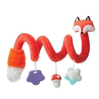 Manhattan Toy Travel + Comfort Fox Activity Spiral