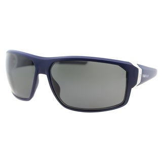 TAG Heuer TAG Racer 9223 106 Matte Blue And Light Grey Plastic Grey Polarized Lens Sport Sunglasses