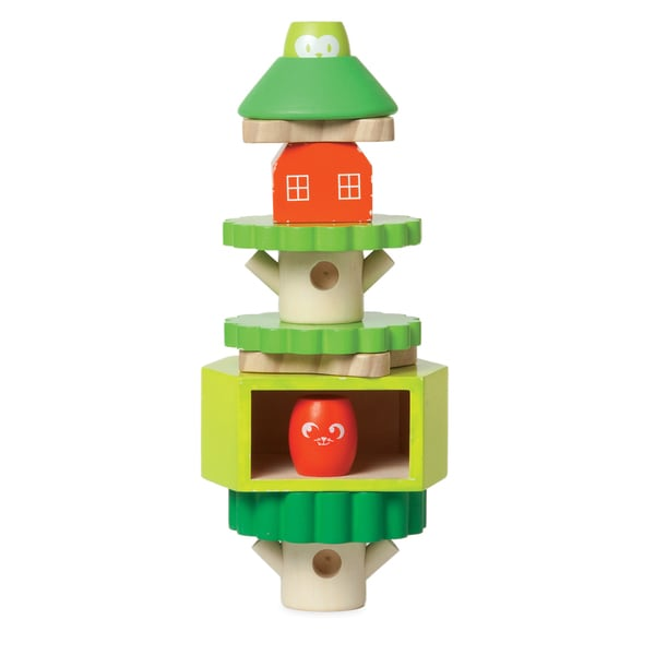 Manhattan Toy Wooden Stack-Up Treehouse