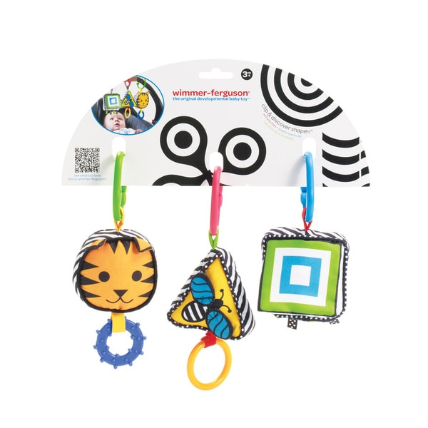 Manhattan Toy Wimmer-Ferguson Clip and Discover Shapes Toy