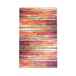 Home Dynamix Splash Collection Multi-colored Polypropylene Machine-made Accent Rug (19.6 x 31.5)