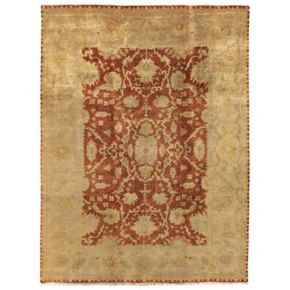 Anatolian Oushak Rust / Gold New Zealand Wool Rug (14' x 18')