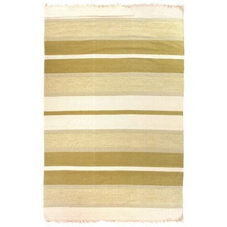 Exquisite Rugs Dhurrie Green Cotton Rug - 12' x 15'