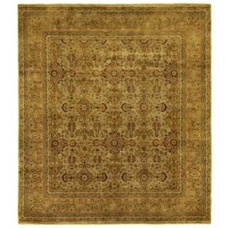 Exquisite Rugs Agra Gold / Ivory Hand-spun New Zealand Wool Rug (15'9 x 23'2)