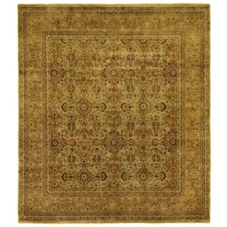 Exquisite Rugs Agra Gold / Ivory New Zealand Wool Rug (14' x 16')