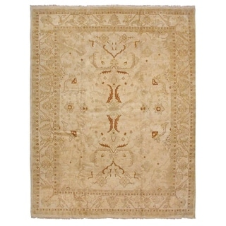 Agra Cream / Gold New Zealand Wool Rug (16'5 x 25'9)