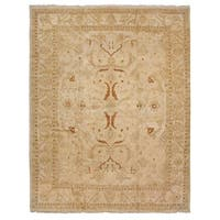Exquisite Rugs Agra Cream / Gold New Zealand Wool Rug (16'5 x 25'9)
