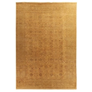 Ziegler Gold / Beige New Zealand Wool Rug (12' x 15')