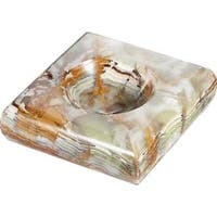Visol Malachite Onyx Cigarette Ashtray