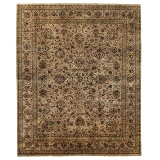 Exquisite Rugs Sultanabad Beige / Multi Hand-spun New Zealand Wool Rug (15'10 x 23'4)