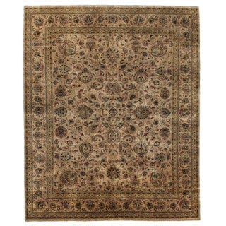 Exquisite Rugs Sultanabad Beige / Multi New Zealand Wool Rug (14'9 x 19'8)