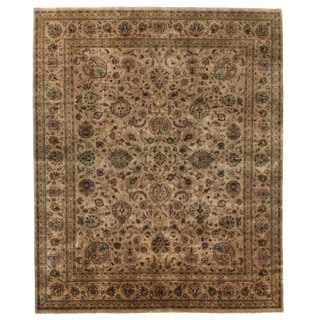 Sultanabad Beige and Multi New Zealand Wool Rug (14' x 18')