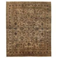 Exquisite Rugs Sultanabad Beige / Multi New Zealand Wool Rug - 14' x 18'