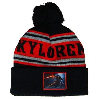 Star Wars Kylo Ren Cuff Pom Pom Beanie