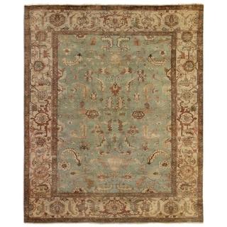 Serapi Light Blue / Ivory New Zealand Wool Rug (12' x 15')