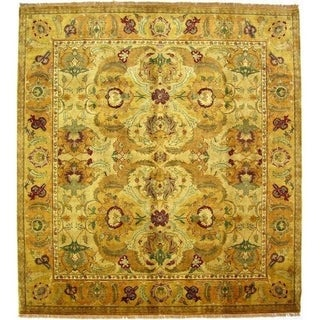 European Polonaise Cream / Beige New Zealand Wool Rug (14' x 18')