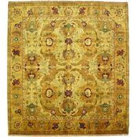 Exquisite Rugs European Polonaise Cream / Beige New Zealand Wool Rug - 14' x 18'