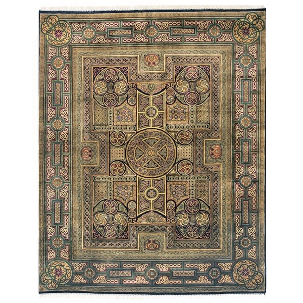 Exquisite Rugs Empire Multi New Zealand Wool Rug (12' x 18')