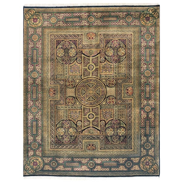 Exquisite Rugs Empire Multi New Zealand Wool Rug - 12' x 18'