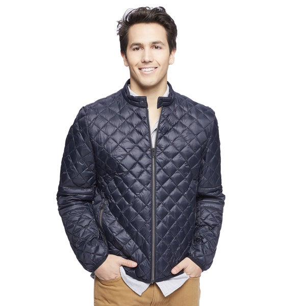 Lucky Brand Men's Quilted Down Jacket - Free Shipping On Orders ...