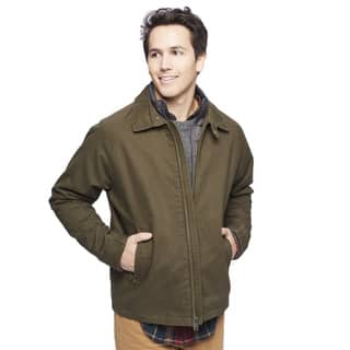 Lucky Brand Men's Golf Jacket with Bib|https://ak1.ostkcdn.com/images/products/11770223/P18682734.jpg?impolicy=medium